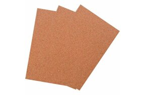 CORK SHEETS A4 SET/4pcs